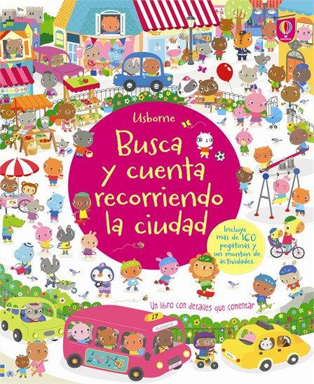 BUSCA Y CUENTA RECORRIENDO LA CIUDAD