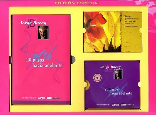 20 PASOS HACIA DELANTE (Incluye libro, cartel, CD  y postales)