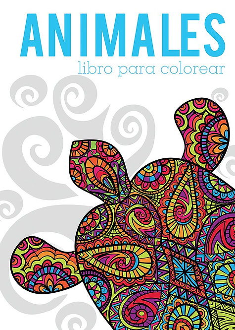 ANIMALES. Libro para colorear