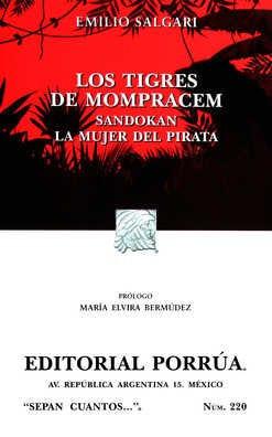 LOS TIGRES DE MOMPRACEM / SANDOKAN / LA MUJER DEL PIRATA