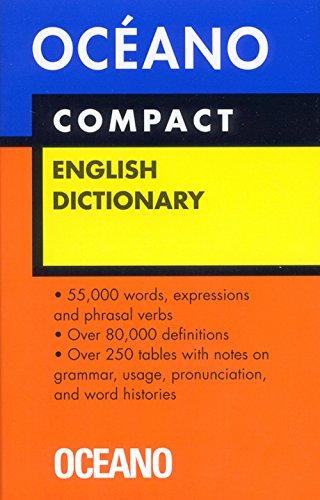 DICCIONARIO OCÉANO COMPACT ENGLISH DICTIONARY