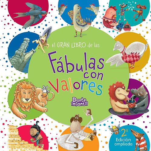 EL GRAN LIBRO DE LAS FÁBULAS CON VALORES