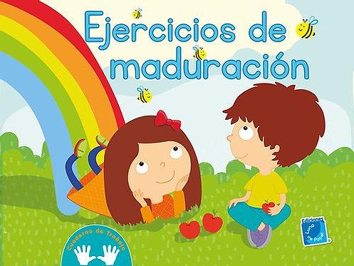 EJERCICIOS DE MADURACIÓN. Cuaderno de trabajo