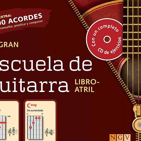 LA GRAN ESCUELA GUITARRA LIBRO ATRIL CON CD