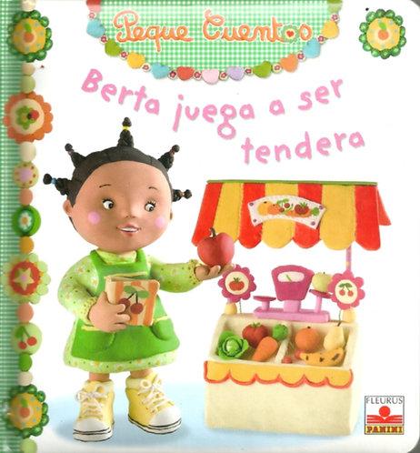 BERTA JUEGA A SER TENDERA