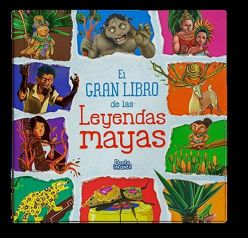 EL GRAN LIBRO DE LAS LEYENDAS MAYAS