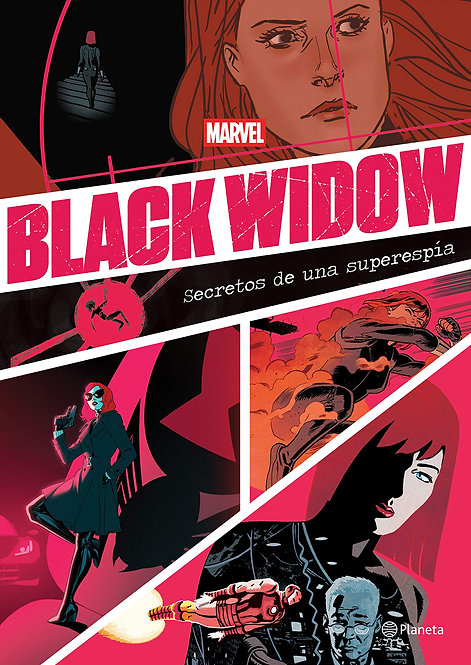 BLACK WIDOW SECRETOS DE UNA SUPERESPÍA