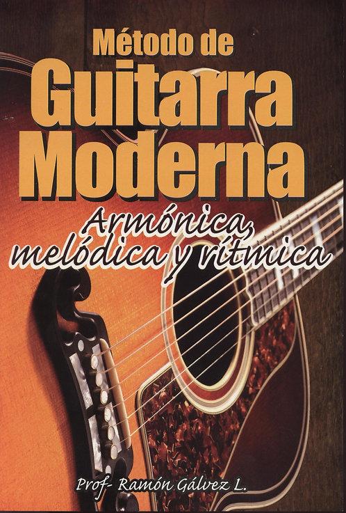 MÉTODO DE GUITARRA MODERNA. Armónica, melódica y rítmica