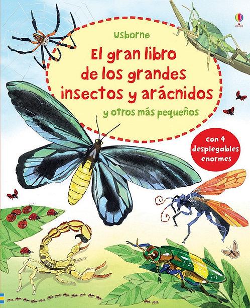 EL GRAN LIBRO DE LOS GRANDES INSECTOS Y ARÁCNIDOS