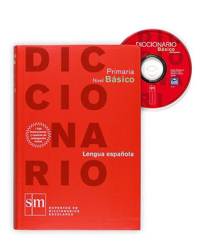 DICCIONARIO PRIMARIA NIVEL BÁSICO. LENGUA ESPAÑOLA (con CD)