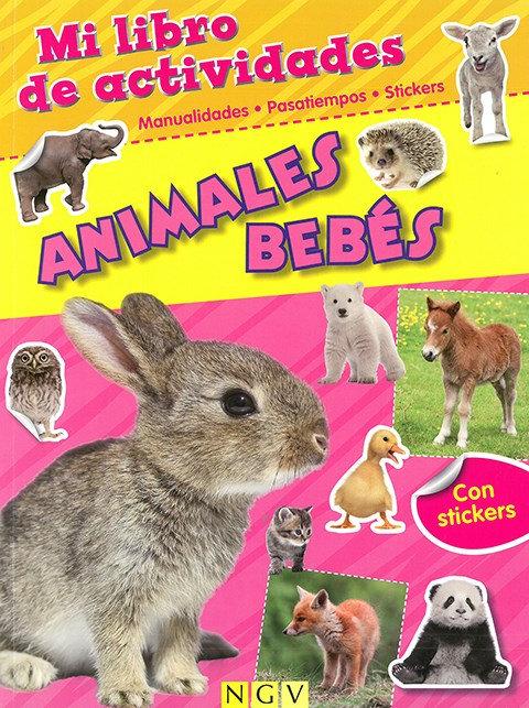 ANIMALES BEBÉS MI LIBRO DE ACTIVIDADES