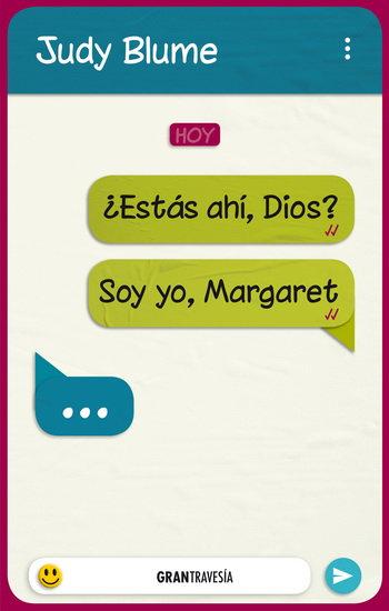 ¿ESTÁS AHÍ DIOS? SOY YO MARGARET