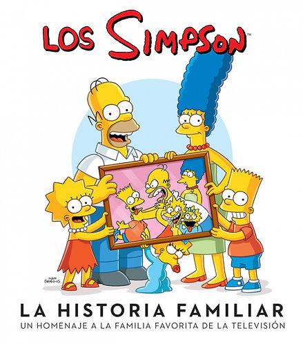 LOS SIMPSON LA HISTORIA FAMILIAR