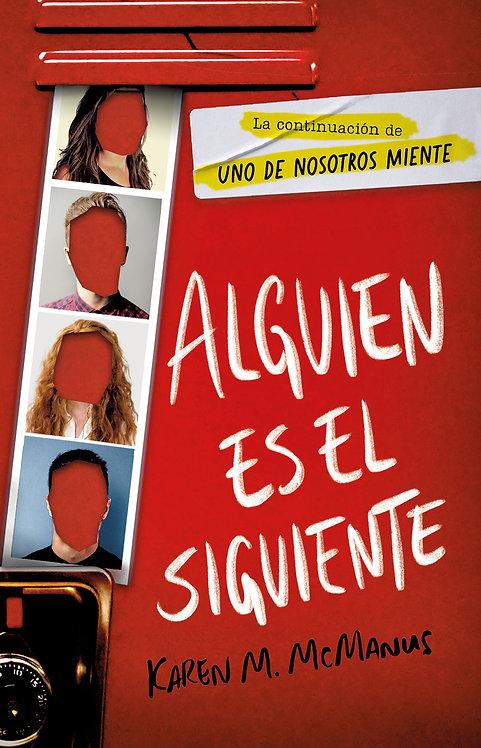 ALGUIEN ES EL SIGUIENTE. Libro