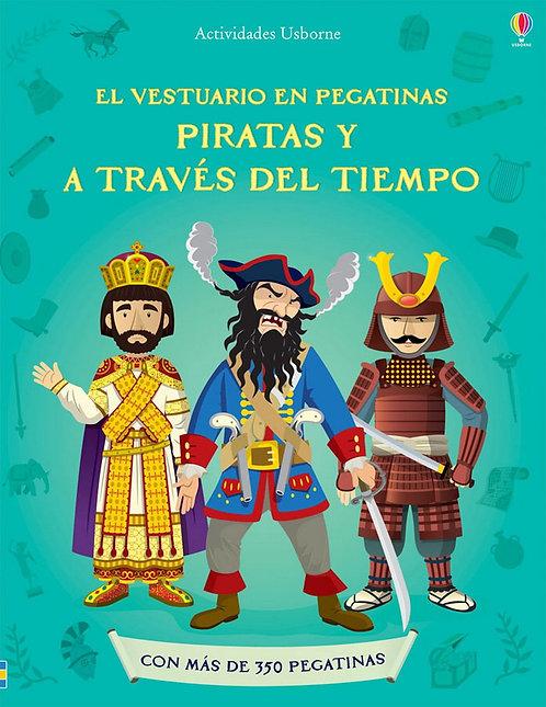 PIRATAS Y A TRAVÉS DEL TIEMPO. El vestuario en pegatinas
