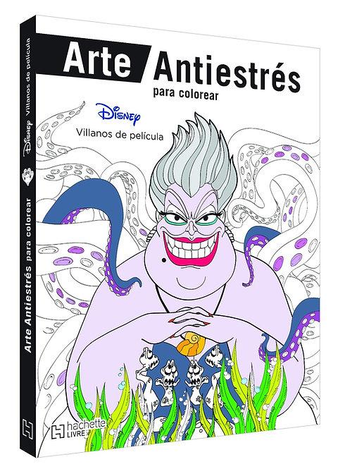ARTE ANTIESTRÉS PARA COLOREAR. DISNEY VILLANOS DE PELÍCULA