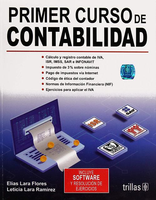 PRIMER CURSO DE CONTABILIDAD 29a Ed.