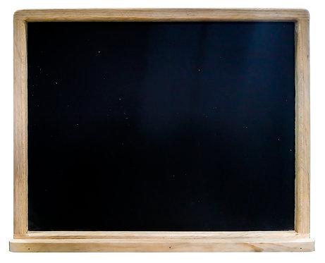 PIZARRA DE MADERA PARA COLGAR (50 cm x 40 cm)