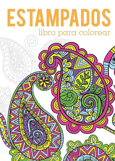 ESTAMPADOS. Libro para colorear