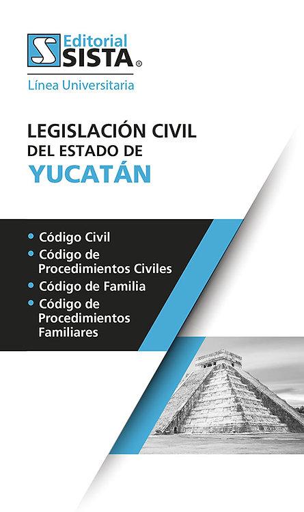 LEGISLACIÓN CIVIL PARA EL ESTADO DE YUCATÁN