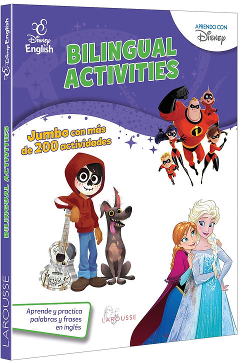 BILINGUAL ACTIVITIES. DISNEY ENGLISH