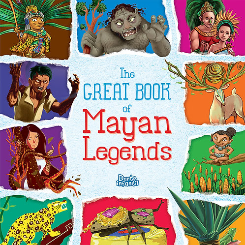 THE GREAT BOOK OF MAYAN LEGENDS