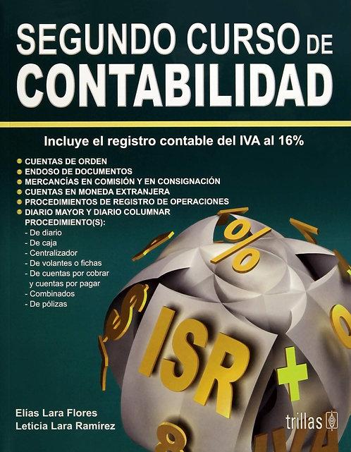 SEGUNDO CURSO DE CONTABILIDAD 16a Ed.