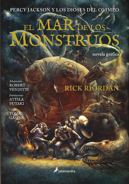 EL MAR DE LOS MONSTRUOS. Percy Jackson y los Dioses del Olimpo 2.