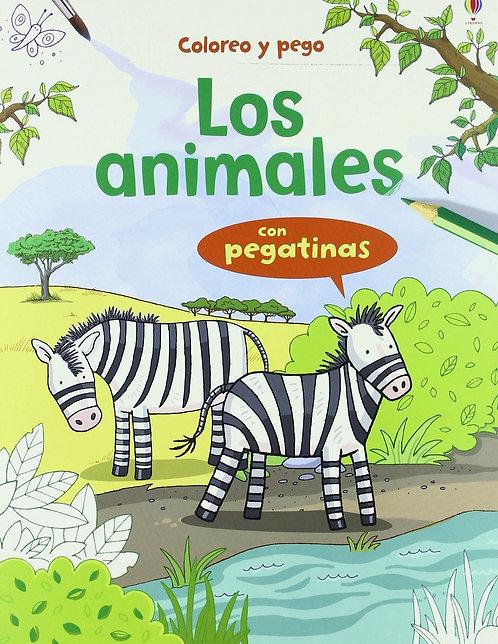 LOS ANIMALES CON PEGATINAS
