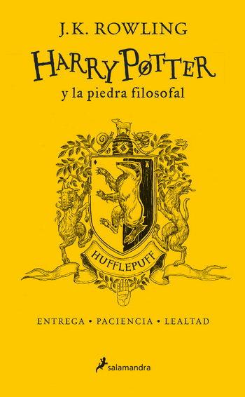HARRY POTTER Y LA PIEDRA FILOSOFAL 1. HUFFLEPUFF (Edic. 20 Aniv.)
