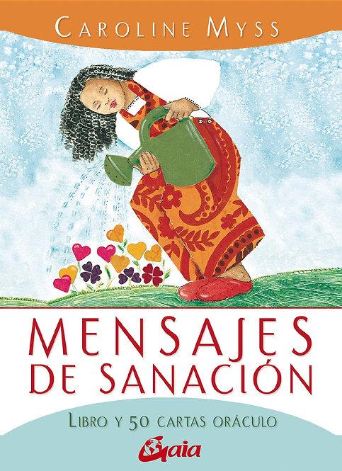 MENSAJES DE SANACIÓN (Libro y 50 cartas oráculo)