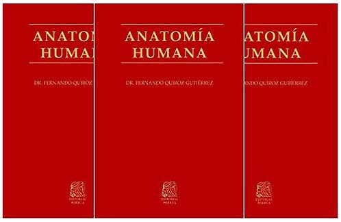 ANATOMÍA HUMANA. 3 tomos
