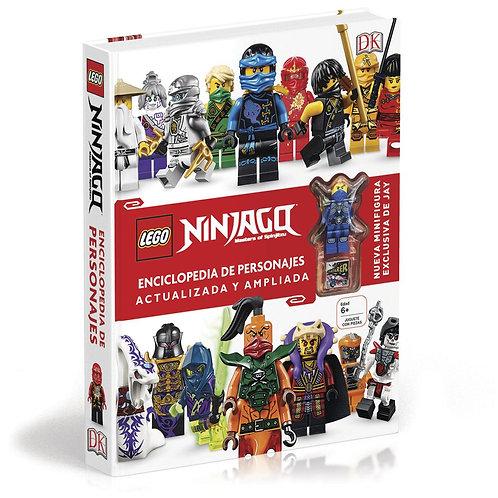 LEGO NINJAGO. ENCICLOPEDIA DE PERSONAJES ACTUALIZADA Y AMPLIADA