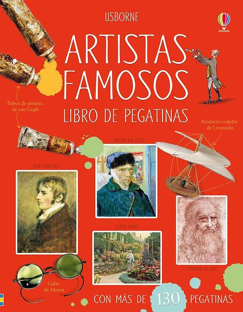 ARTISTAS FAMOSOS. Libro de pegatinas
