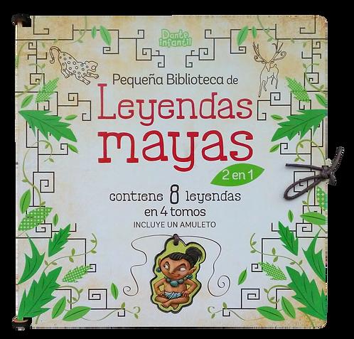 ESTUCHE LEYENDAS MAYAS 2 EN 1. Incluye dije de Alux