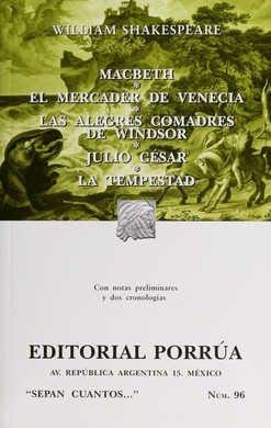 MACBETH / EL MERCADER DE VENECIA / OTROS