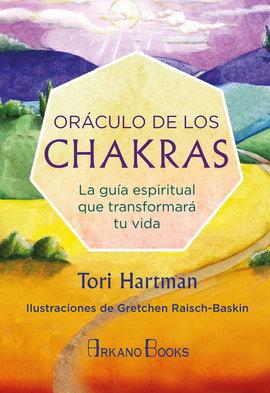 ORÁCULO DE LOS CHAKRAS. LIBRO Y CARTAS