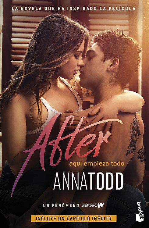 AFTER 1 AQUÍ EMPIEZA TODO. Edición de película