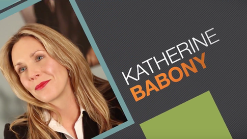 An animated intro I created for real estate agent Katherine Babony.