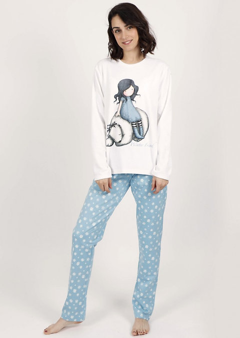 Pijama Gorjuss azul