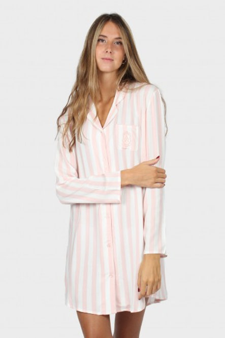 Camisón Pink Stripes