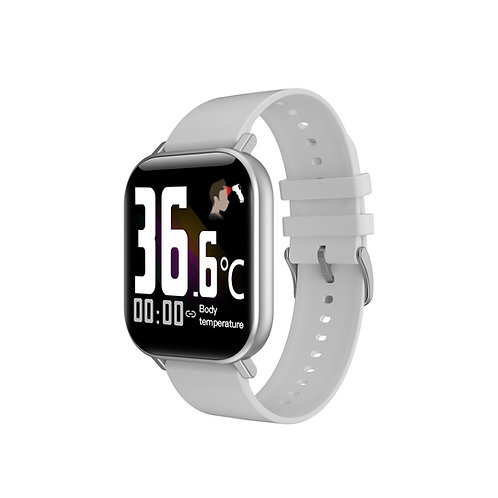 Voltmi Smart Watch Silver AMOLED Full-Touch Screen