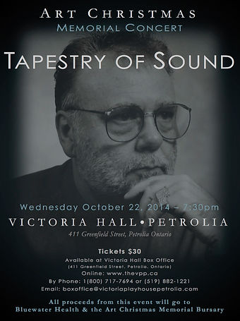 Tapestry Of Sound Memorial Concert Poster