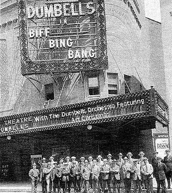 "The Dumbells Orchestra - ""Biff Bing Bang"""