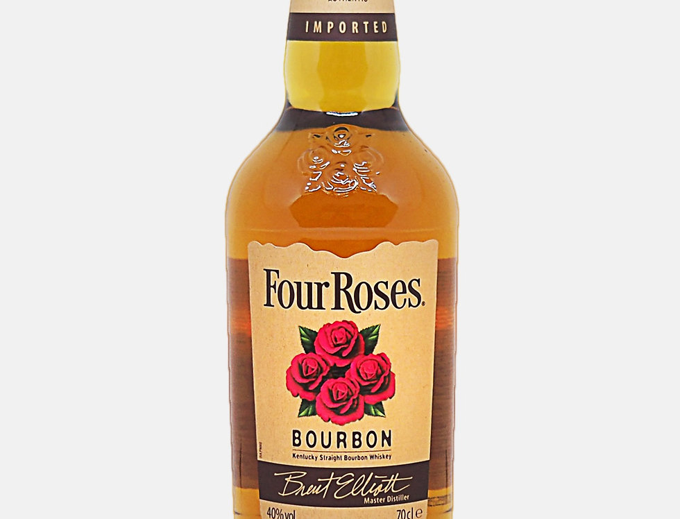 Four Rouses Straight Bourbon Whisky 70cl