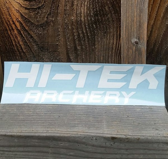 HI-TEK WINDOW DECAL