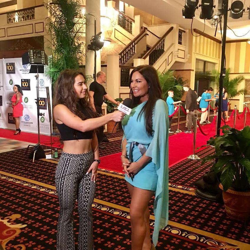 Diana Noris interviewed by VIP TV