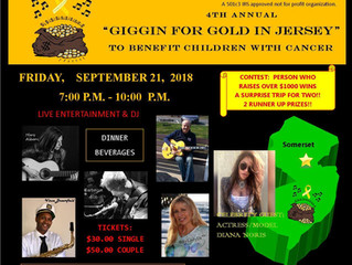 """4th annual """"Giggin for gold in Jersey"""""""