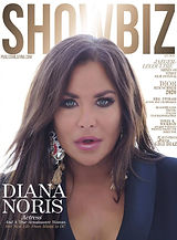 Diana Noris Cover of Showbiz Magazine