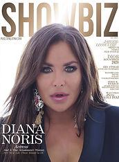 Diana Noris Cover of Showbiz Magazine